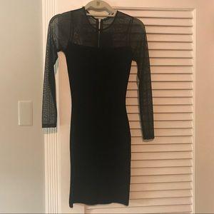 lola shoetique black dress